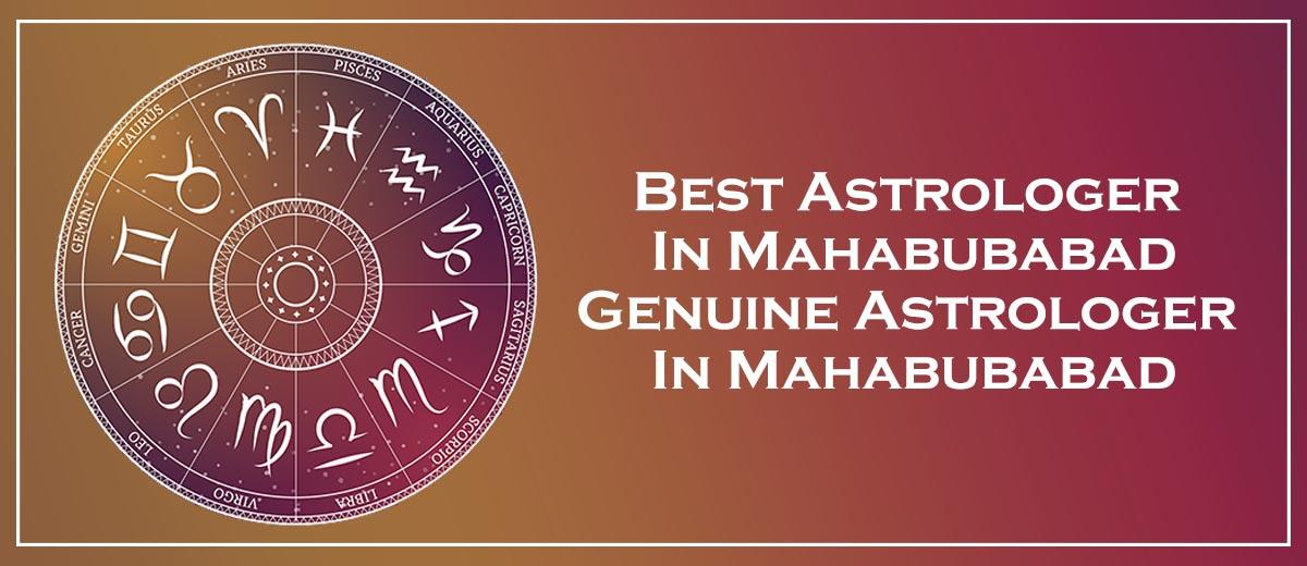 Best Astrologer in Mahabubabad